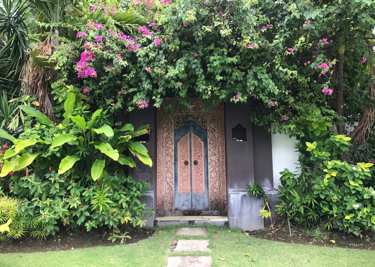 Canggu Bali Ornate Door
