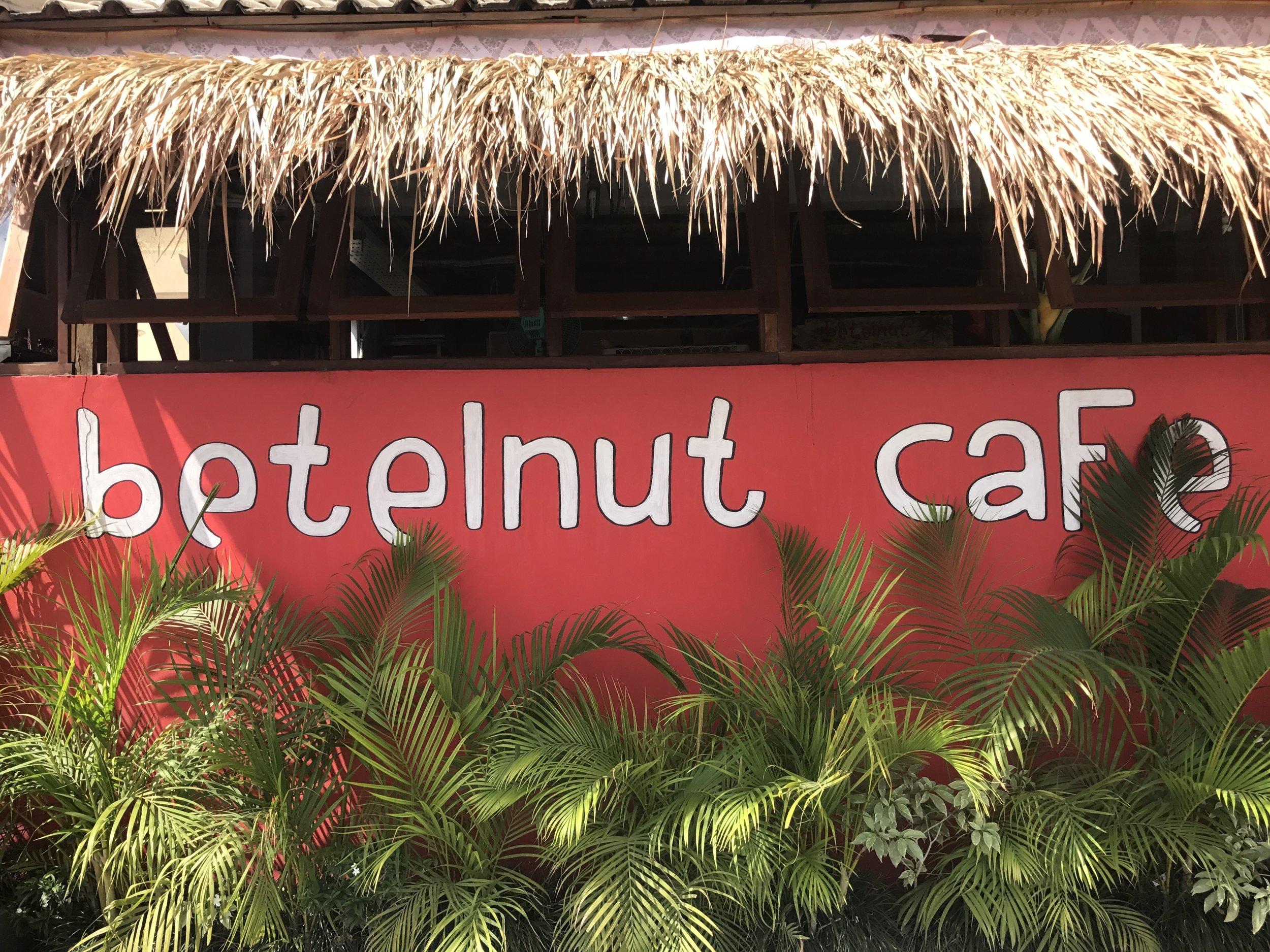 Betelnut Cafe Facade