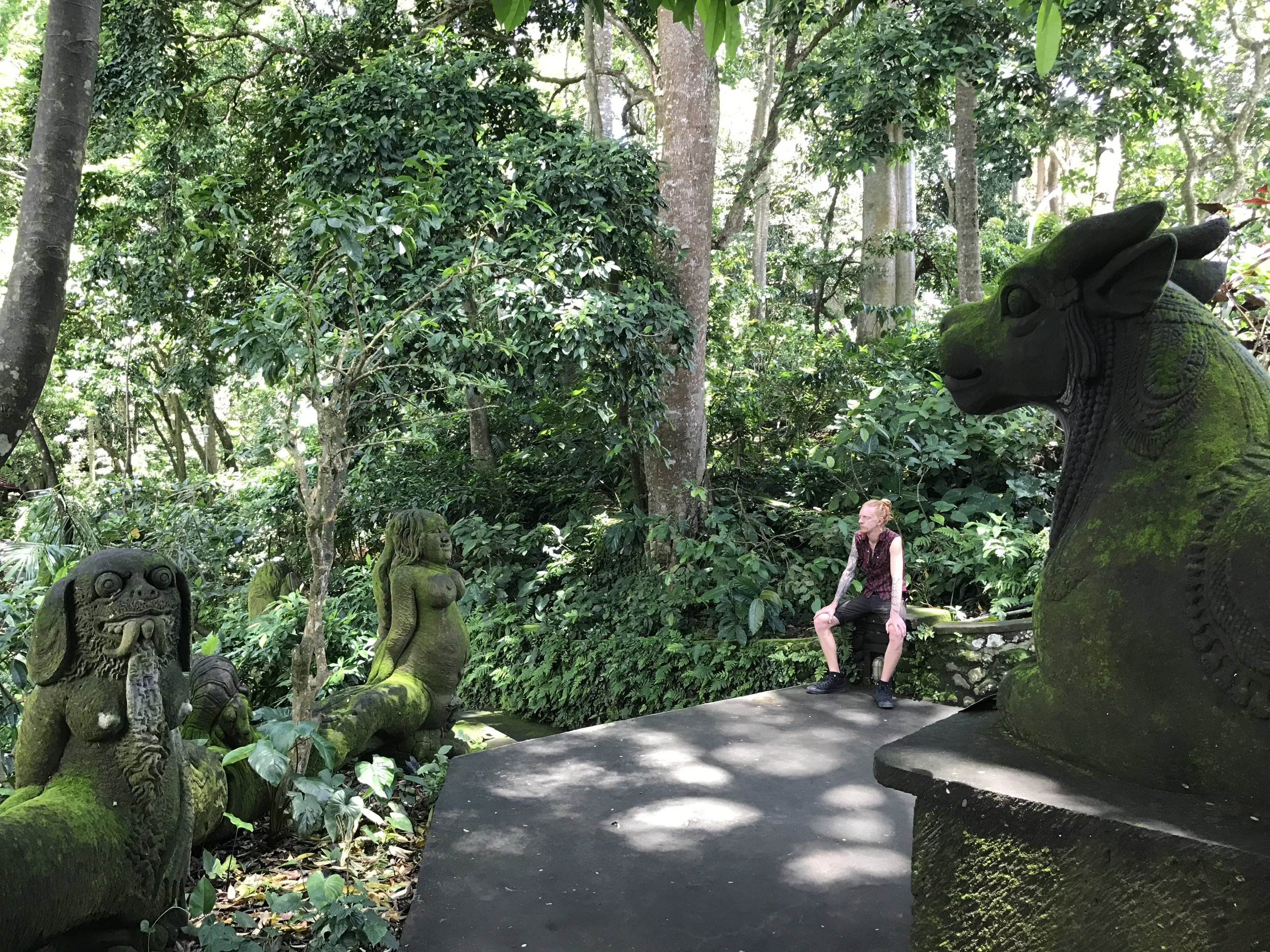 Ubud Sacred Monkey Forest_Statues at Main Temple.JPG