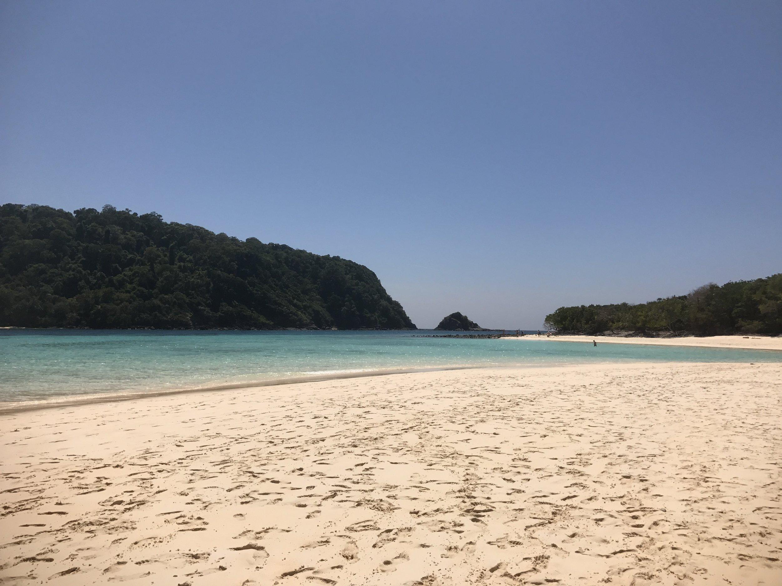 The national park at Koh Rok.