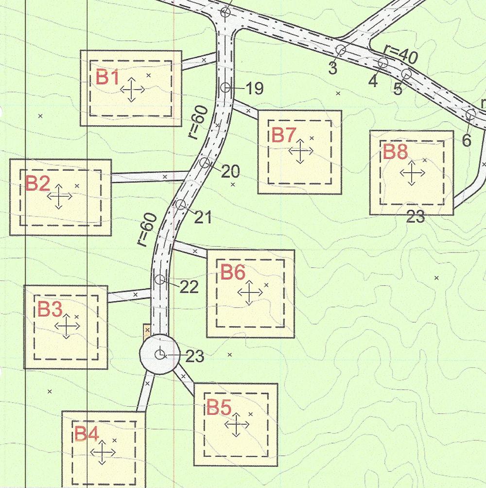 B6 - SOLGT! - Første byggetrinn består av 8 tomter som skal bebygges med Heddahytter i forskjellige størrelser. Det er helårsvei til døra.