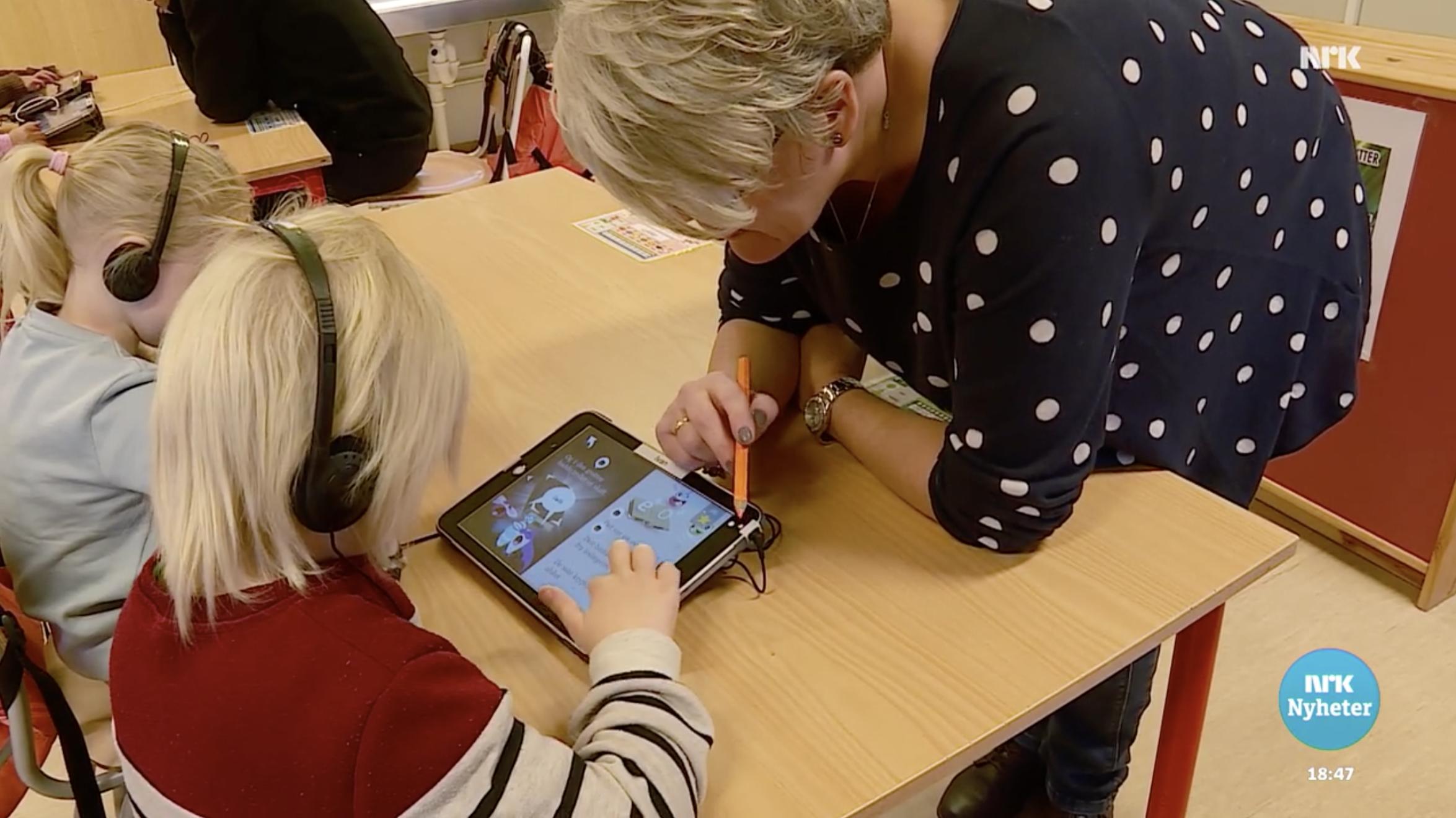 Ine Berit Mjølnerød er spent på hvordan Poio påvirker læringen.