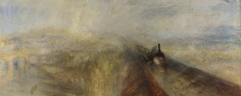 Rain, Steam and Speed, JMW Turner, 1844