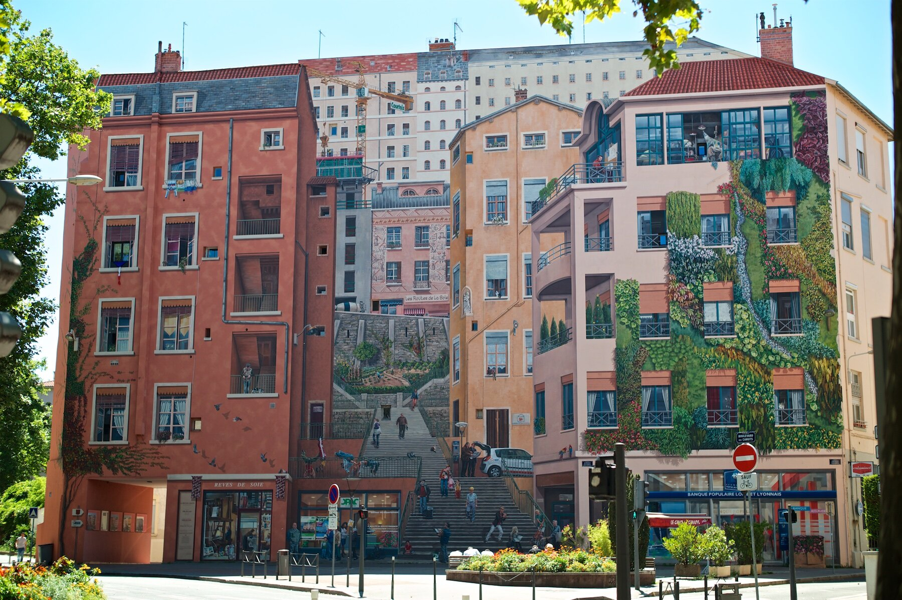 Mur des Canuts in Lyon.