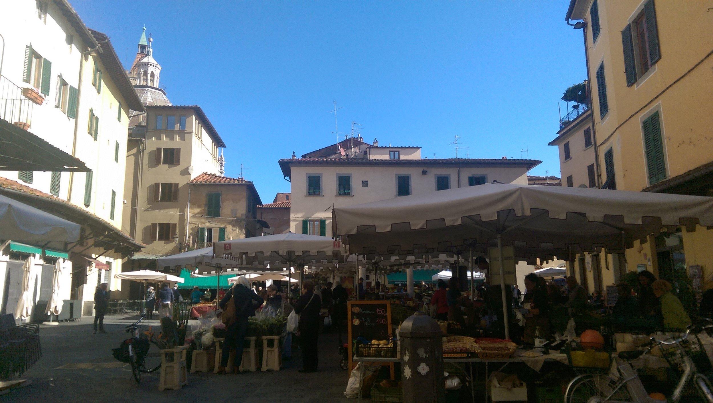 Pistoia market