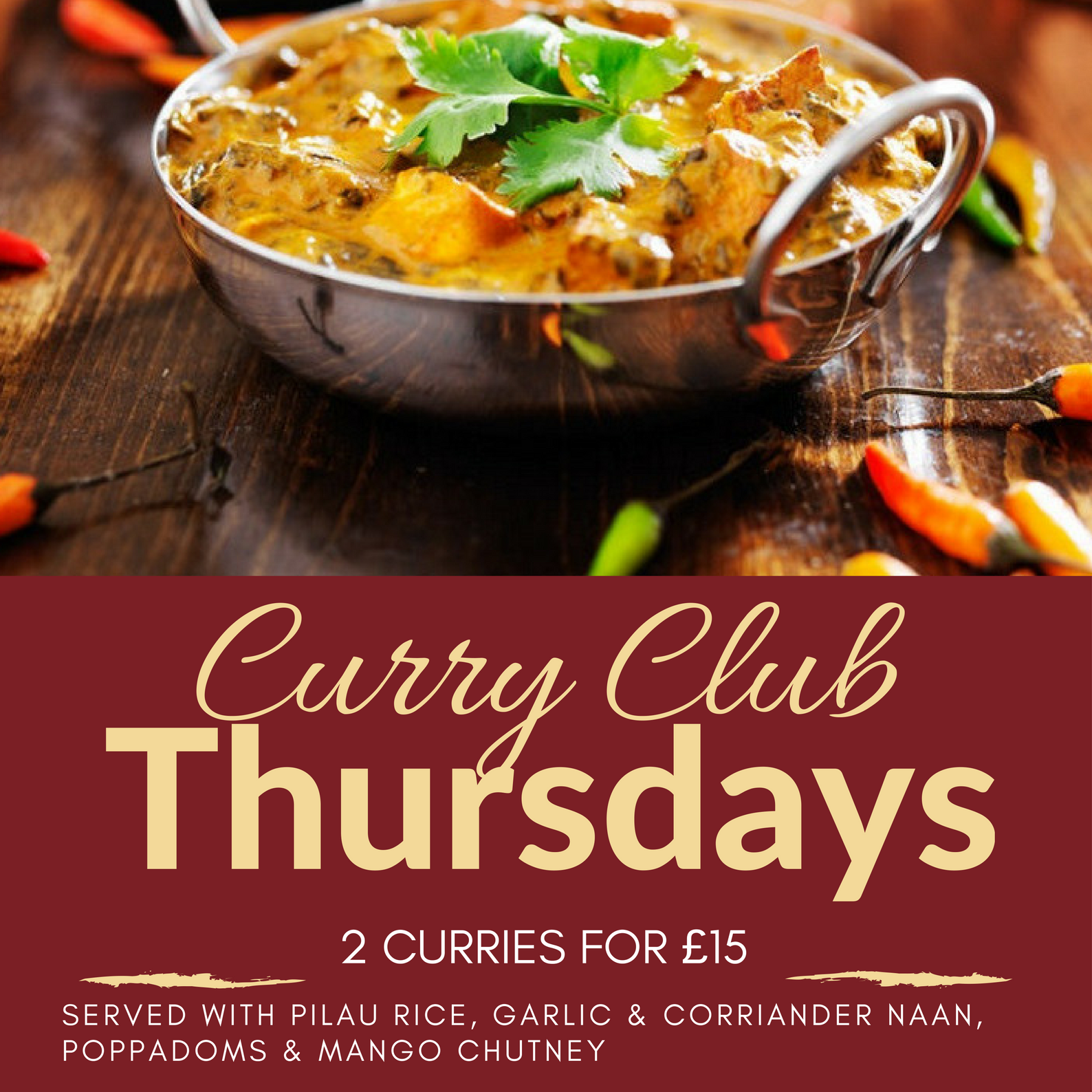 Curry Club Thursdays
