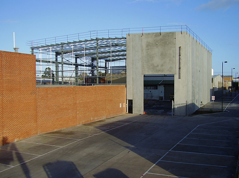 Concrete panel warehouse construction Melbourne