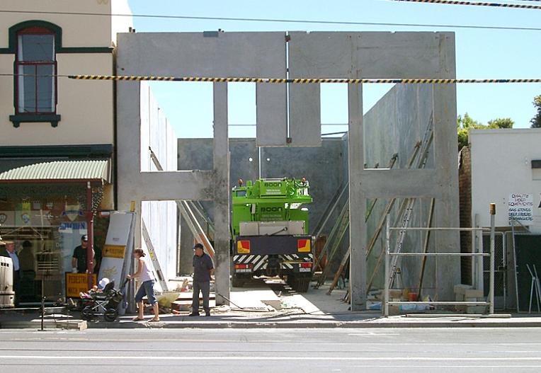 Concrete Tilt Panel Office Construction Melbourne