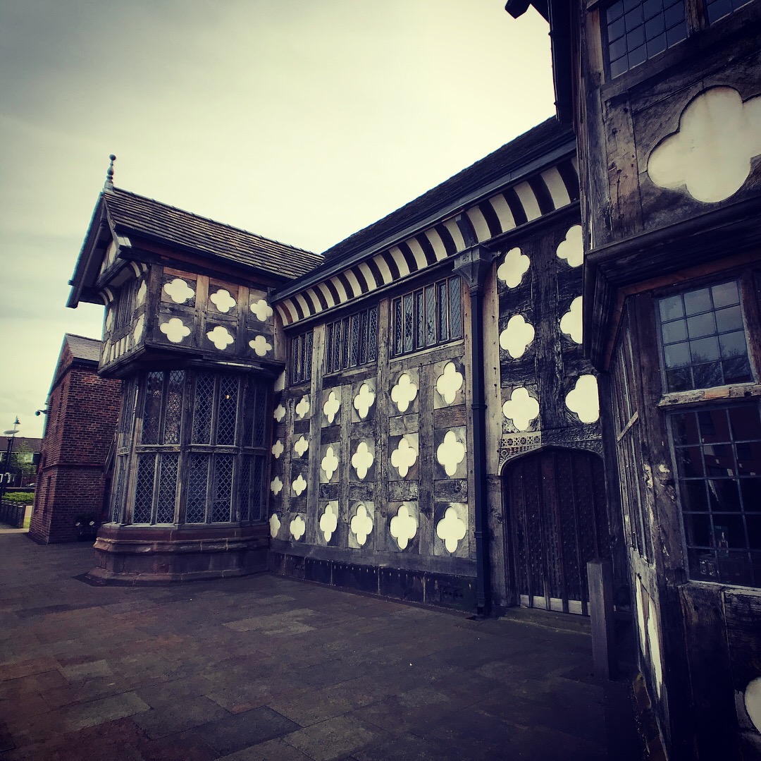 ORDSALL HALL - PARANORMAL STUDY