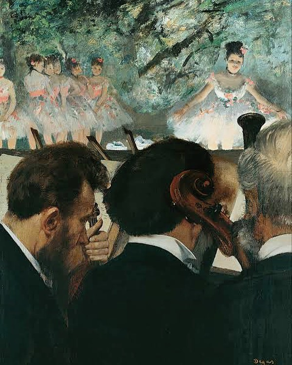 Oh Degas! Your works have always been an inspiration to me.  Edgar Degas, interestingly, was deeply interested in photography, which he adapted to his own purpose. Especially the edges of the painting, which cuts off the figures and objects like a photograph. He would paint from a very unique perspective and gave a crazy depth to his artworks.  #edgardegas #impressionism #favouritepainter  #livemusic #concertphoto #newmusic #livephotography #musiclife #rockphotography #concertphotography #concertjunkie #musicphotography #audioloveofficial #livemusicphotography #musicphoto #fineart #abstractpainting #myart #artcollector #abstractart #artphotography #modernart #instaartwork #oilpainting #contemporarypainting #painter #instaartoftheday