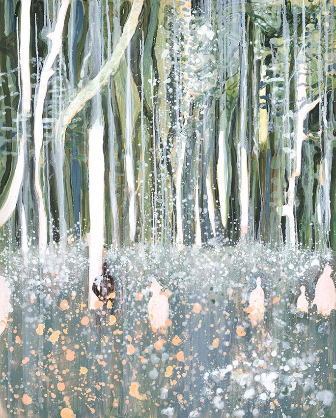 L'éternel retour , huile sur toile, 150 x120, 2019