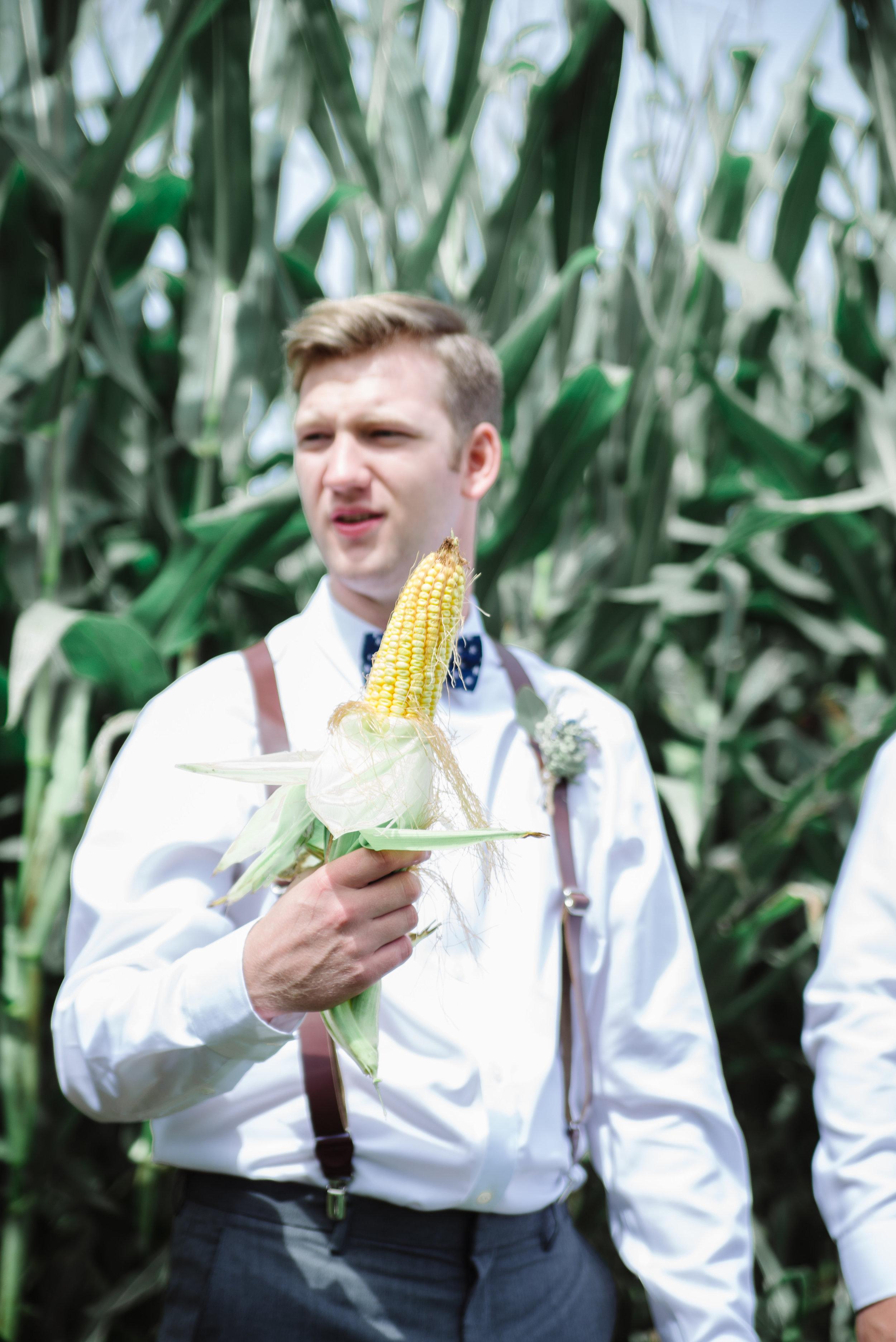 Matt and his corncob