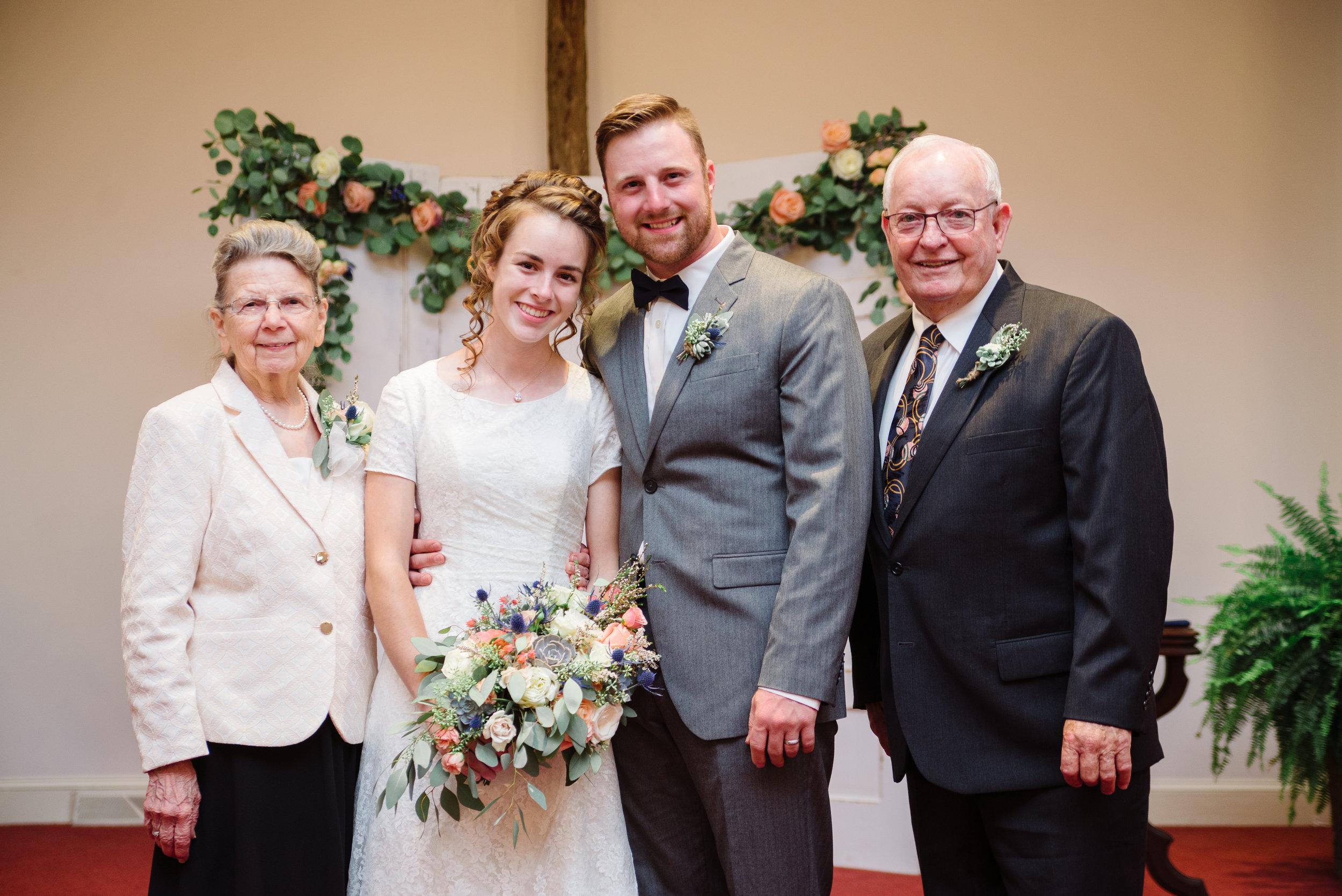 Grandpa and Grandma Phillips