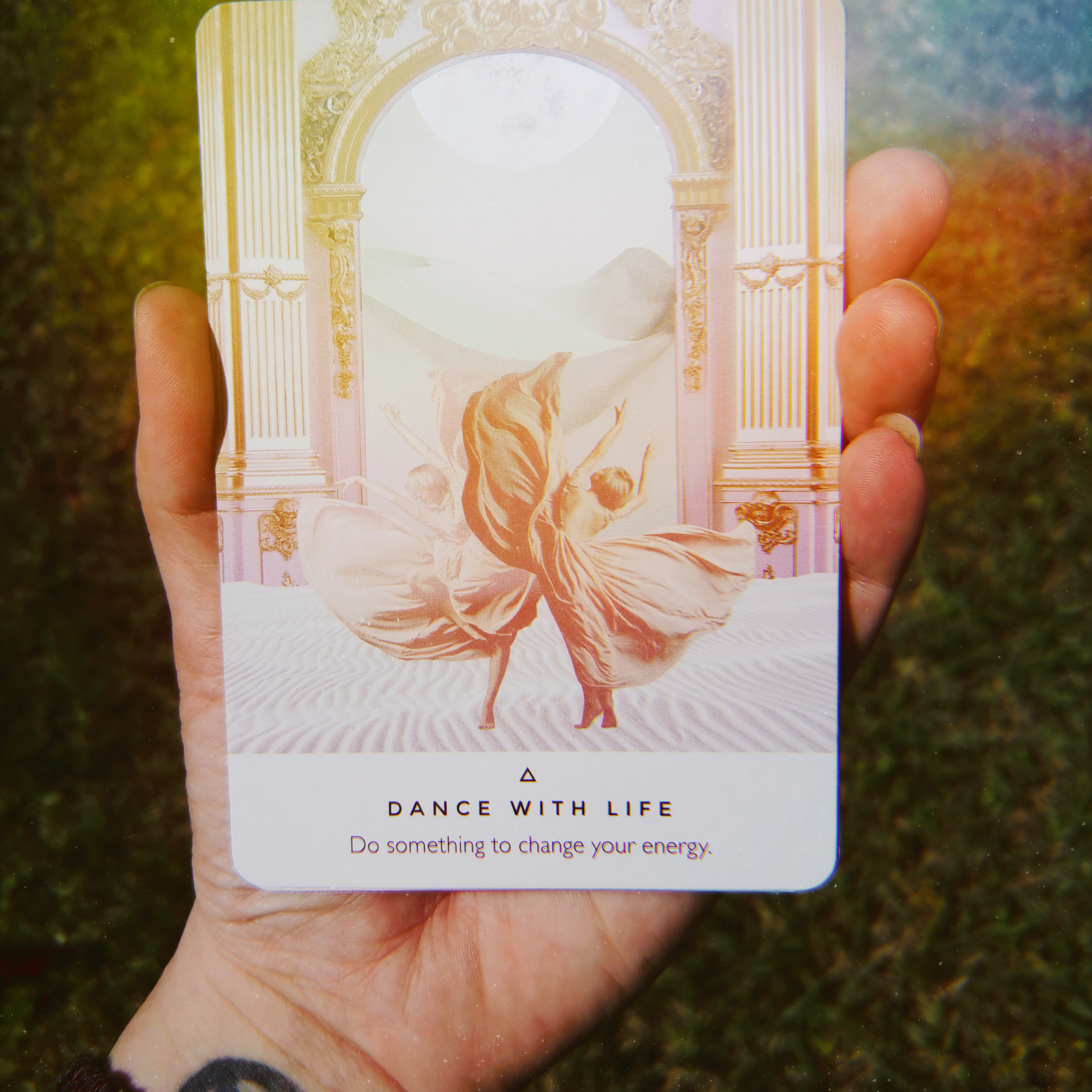 April 28, 2019 Oracle Message Your Spirit Sparkle