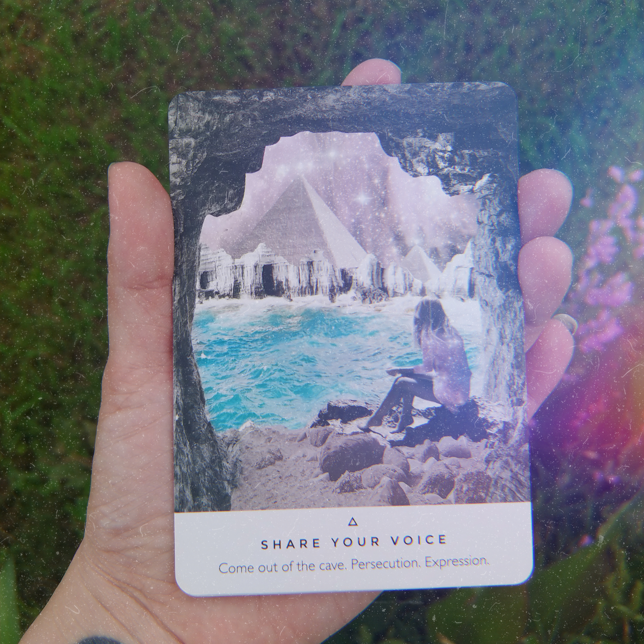 Keepers of the Light oracle deck by Rebecca Campbell