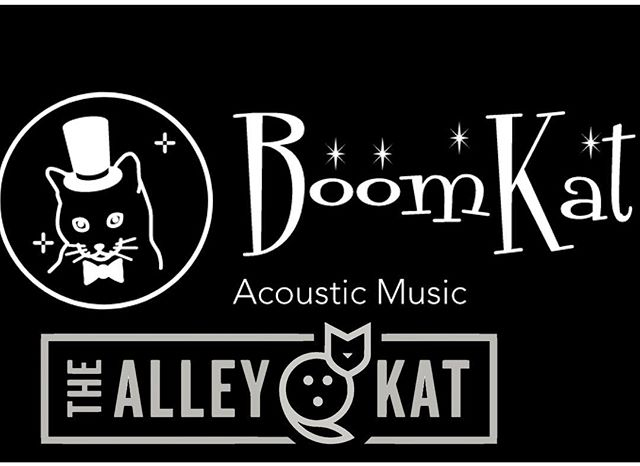 Check out the smooth #acoustic sounds of BoomKat this evening at #thealleykatny #cocktails #gourmetwoodfiredpizza #draftbeer #appetizers