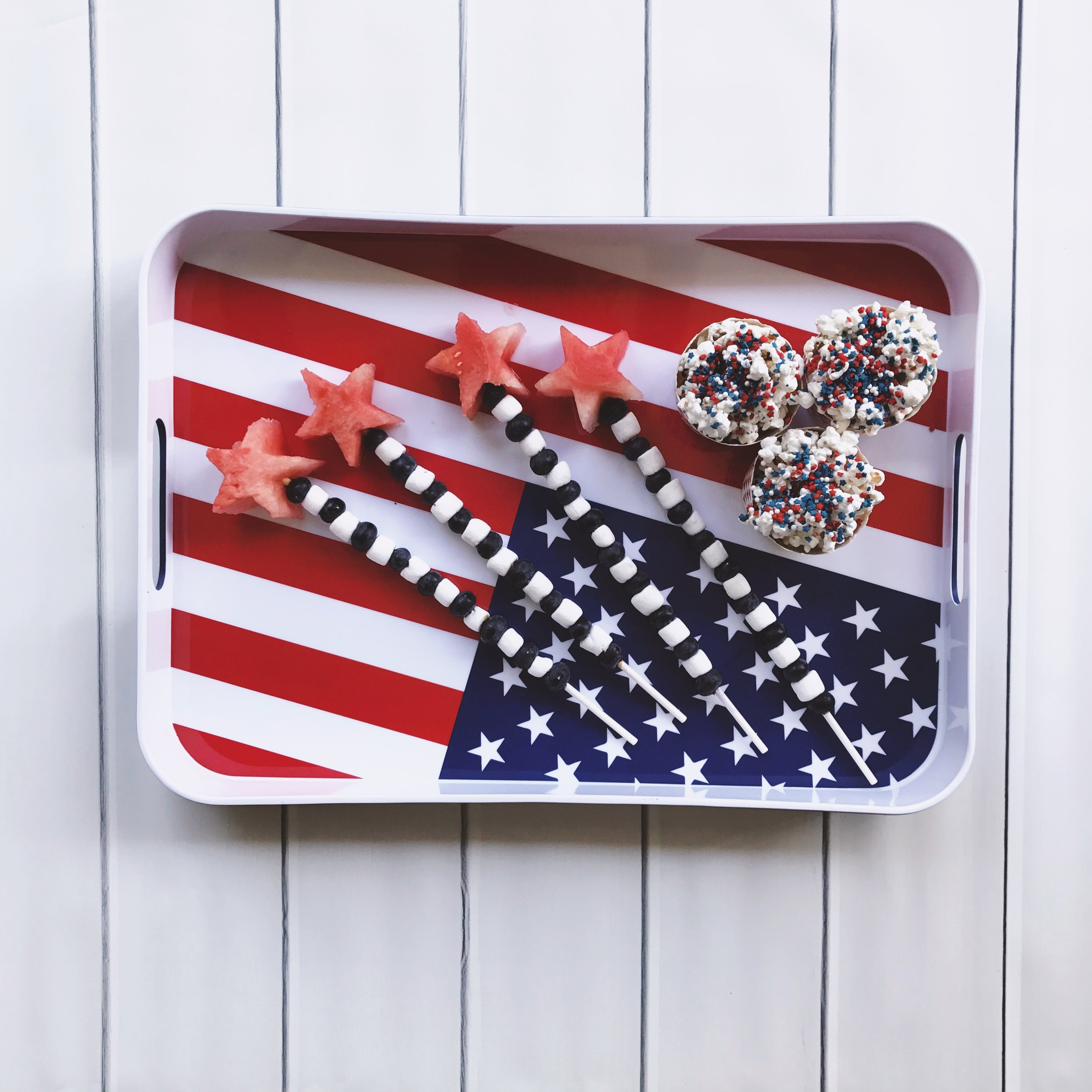 Here are my favorite patriotic summer treats that are so EASY to make!