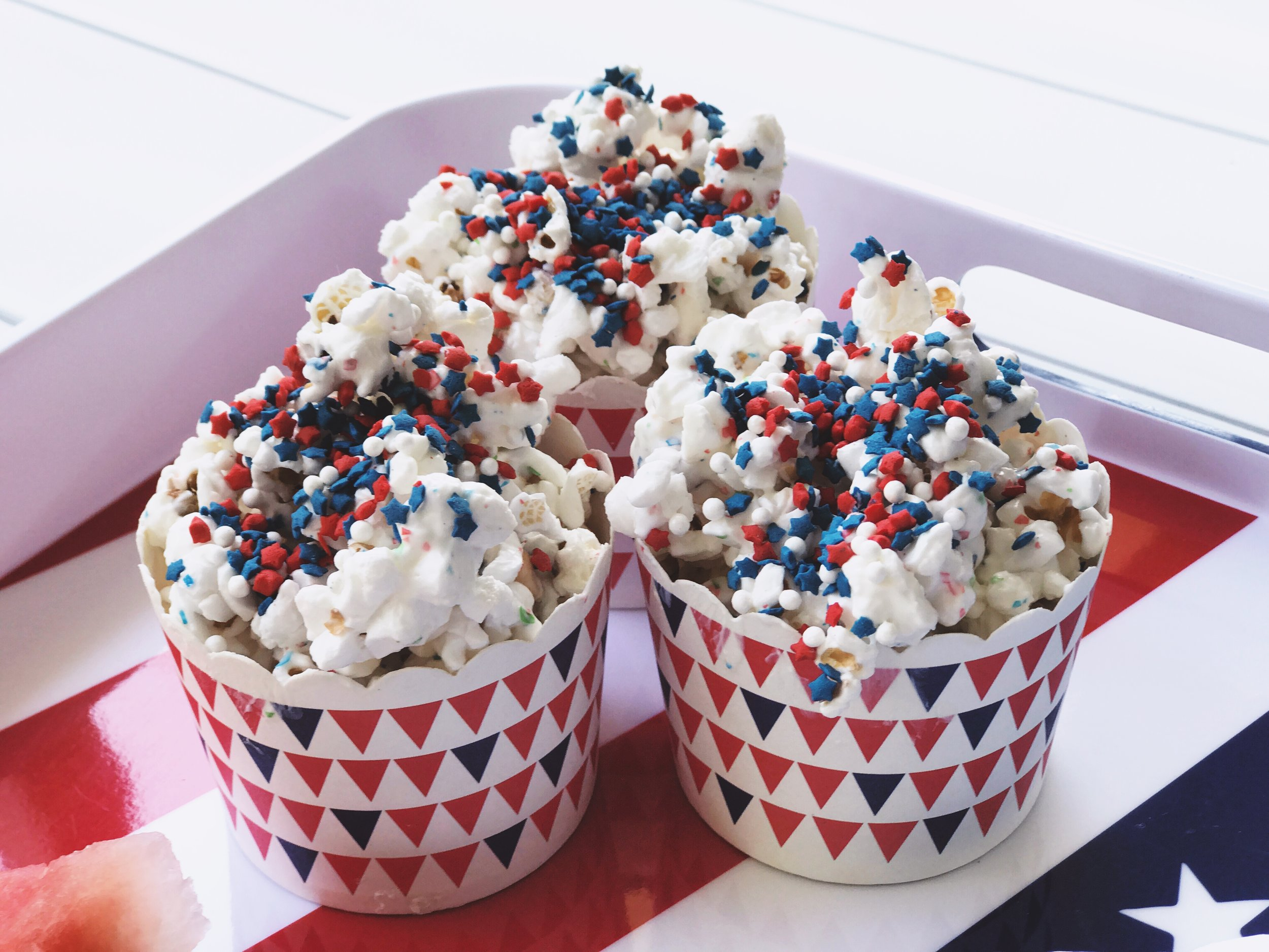 Celebration Popcorn is a fun dessert that is a quick as it is yummy!