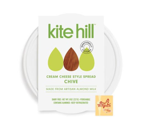 I have a small obsession with  Chive Cream Cheese , and I'm very picky about fake cheeses in general,  Kite Hill Products  get it SO right and their  Yogurts  and  Ricotta  are amazing too!