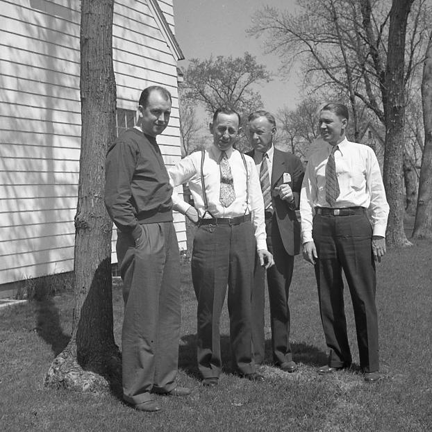 Arlo Jordan, Elmer Johnson, Oscar Alquist, Mr. Wicklund