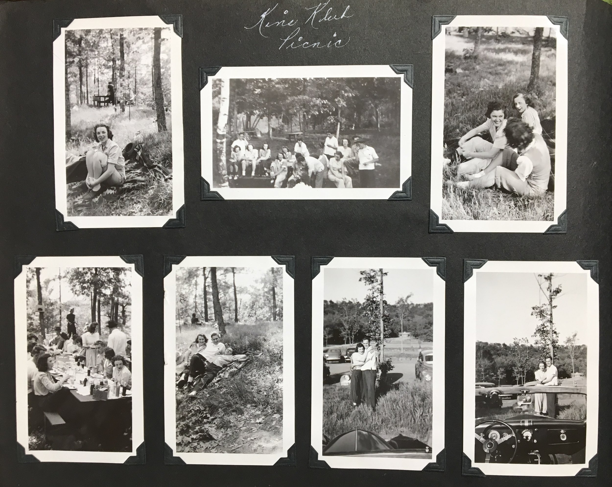 The Kins Club Picnic 1940