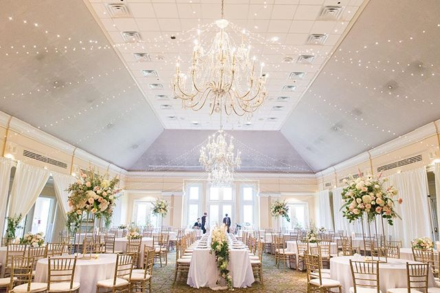 The transformation of a ballroom, complete with fairy lights and flowers everywhere ✨ #edelweissdesignhouse #afewofourfavoritethings #reception #wedding #ballroom #bride . . . . . #EDHweddings #EDHflorals  #beautifulmatters #liveunscripted #vsco #pursuepretty #livethelittlethings #florist #flowerstagram #thatsdarling #flashesofdelight #thehappynow #darlingmovement #seekmoments #ofsimplethings #seekthesimplicity #dslooking