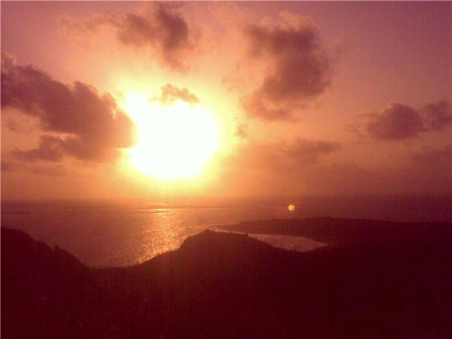 Nascer do Sol visto do Farol / Crédito: Ana Carolina