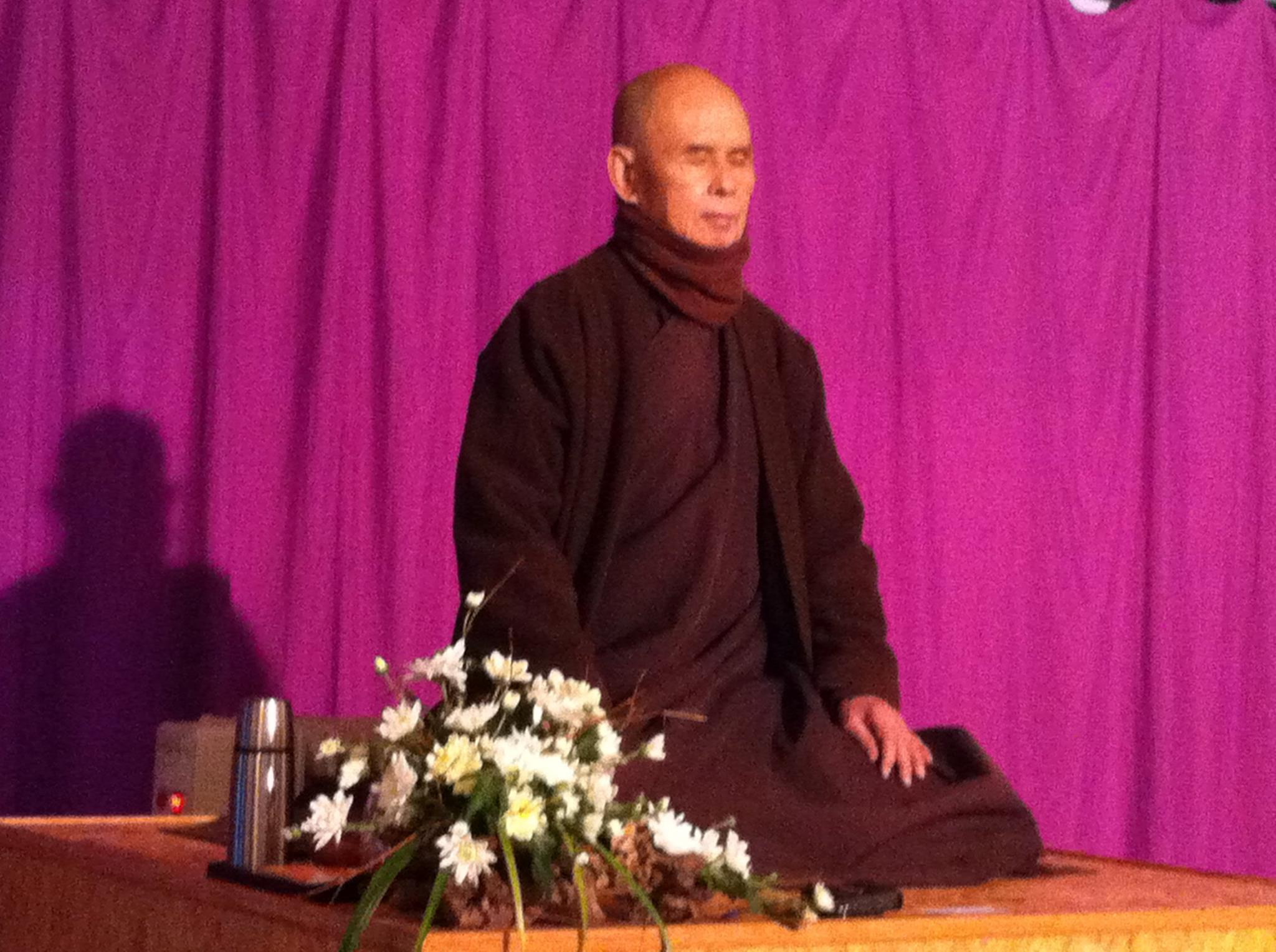 Tracey's Zen Master - World renowned  Thich Nhat Hanh