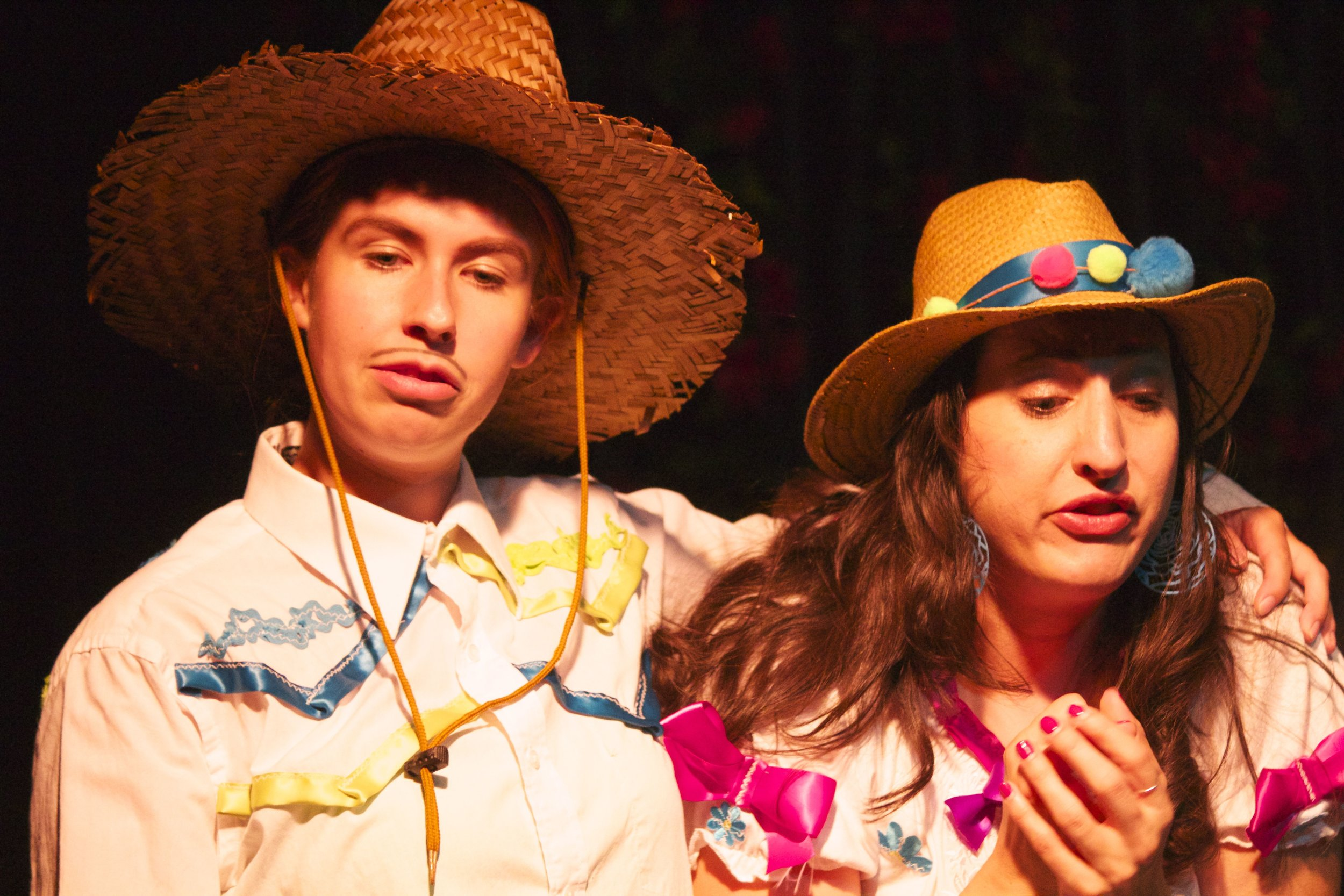 Michelle Pantle as Miguel and  Christin Mason  as Maria