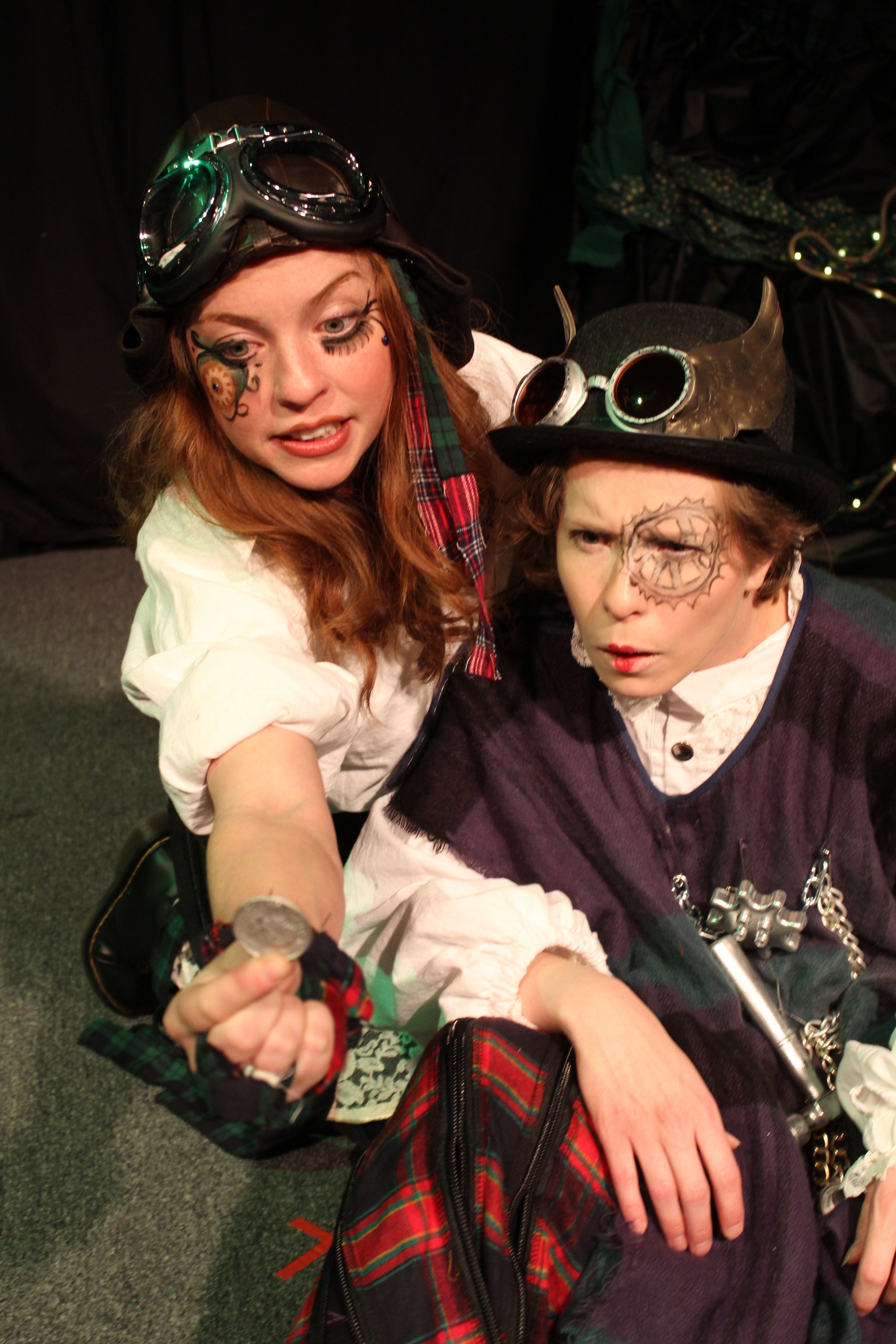 Karin Carr as  The Lass and  Veronica Straight-Lingo as The Tinker