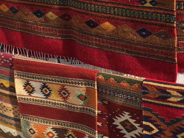 Woven Iroquois cloth