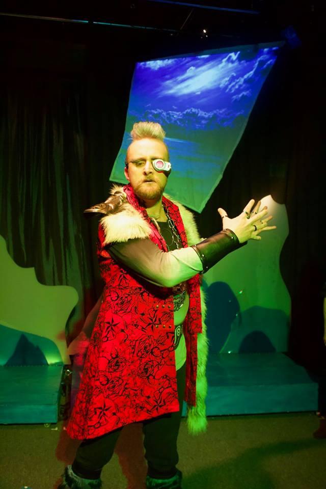 Ryan Barnett  as Odin