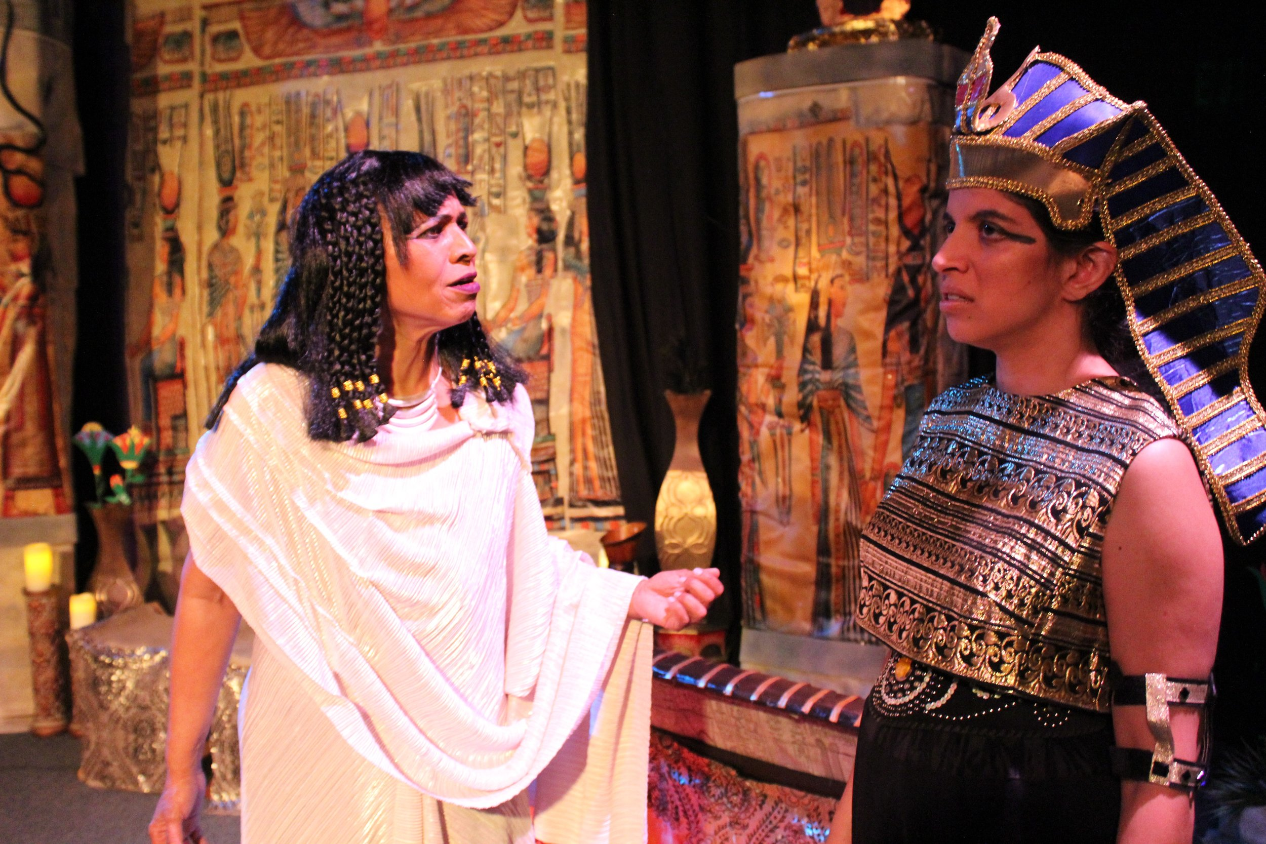 Artie Thompson  as Nephthys &  Shena Hinger  as Set