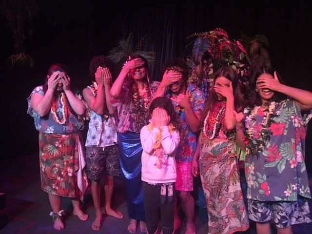 Kaati with the Aloha company.