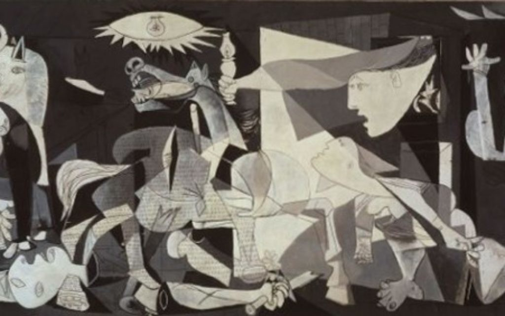 Pablo Picasso's  Guernica.