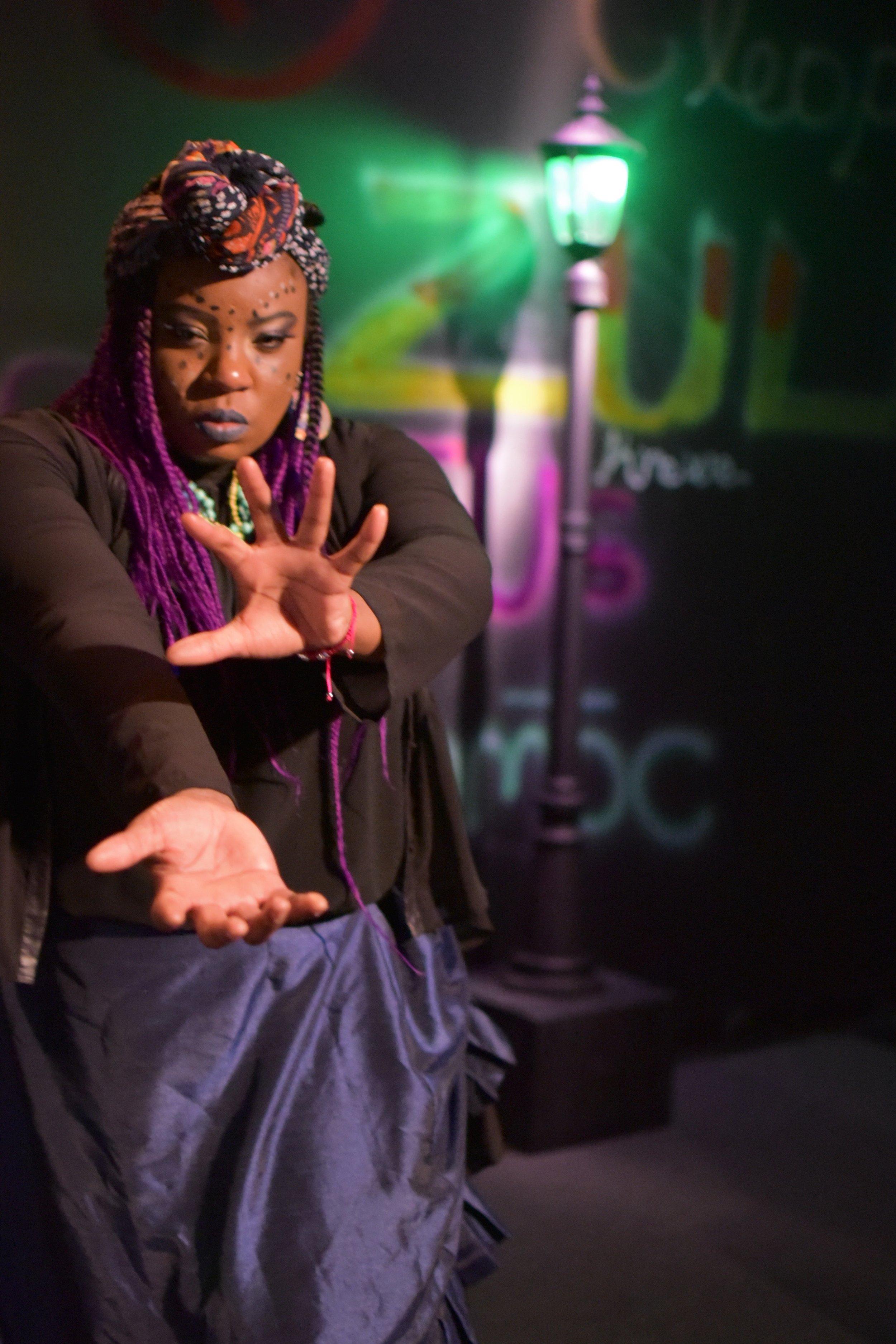 Kenya Fashaw  as   Marie Laveau