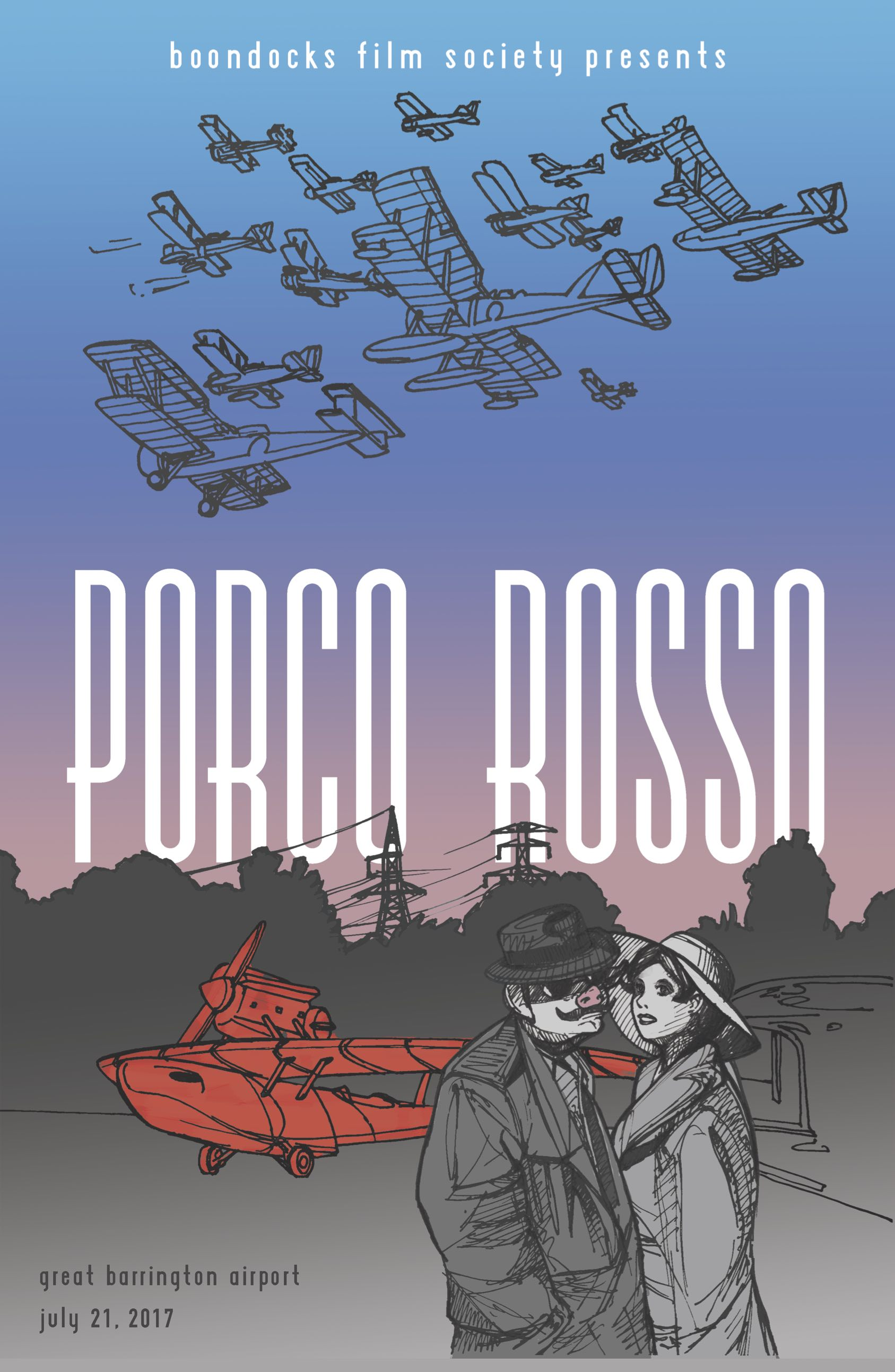 Porco Rosso at Great Barrington Airport