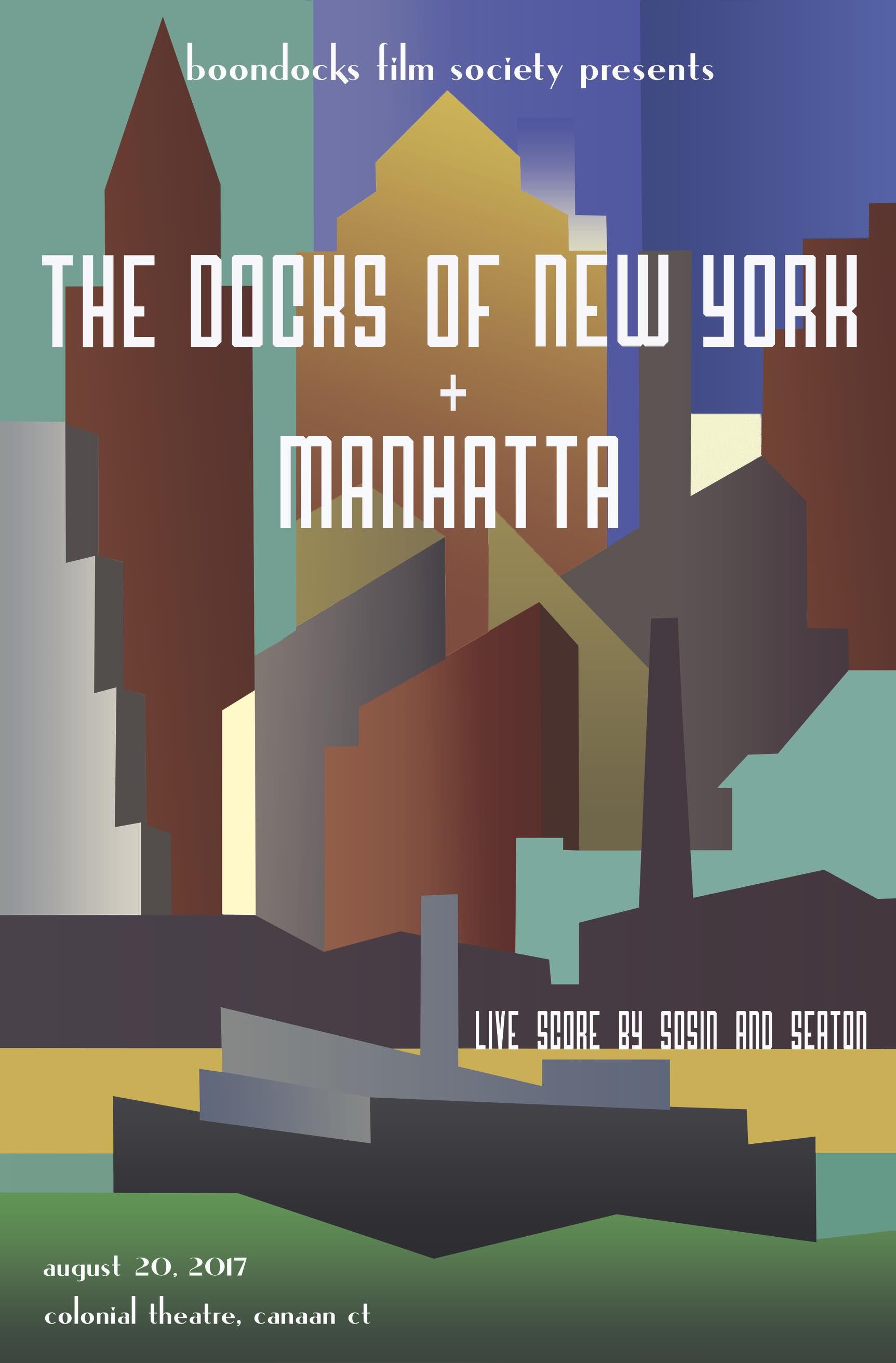 Docks of New York w/ LIVE SCORE