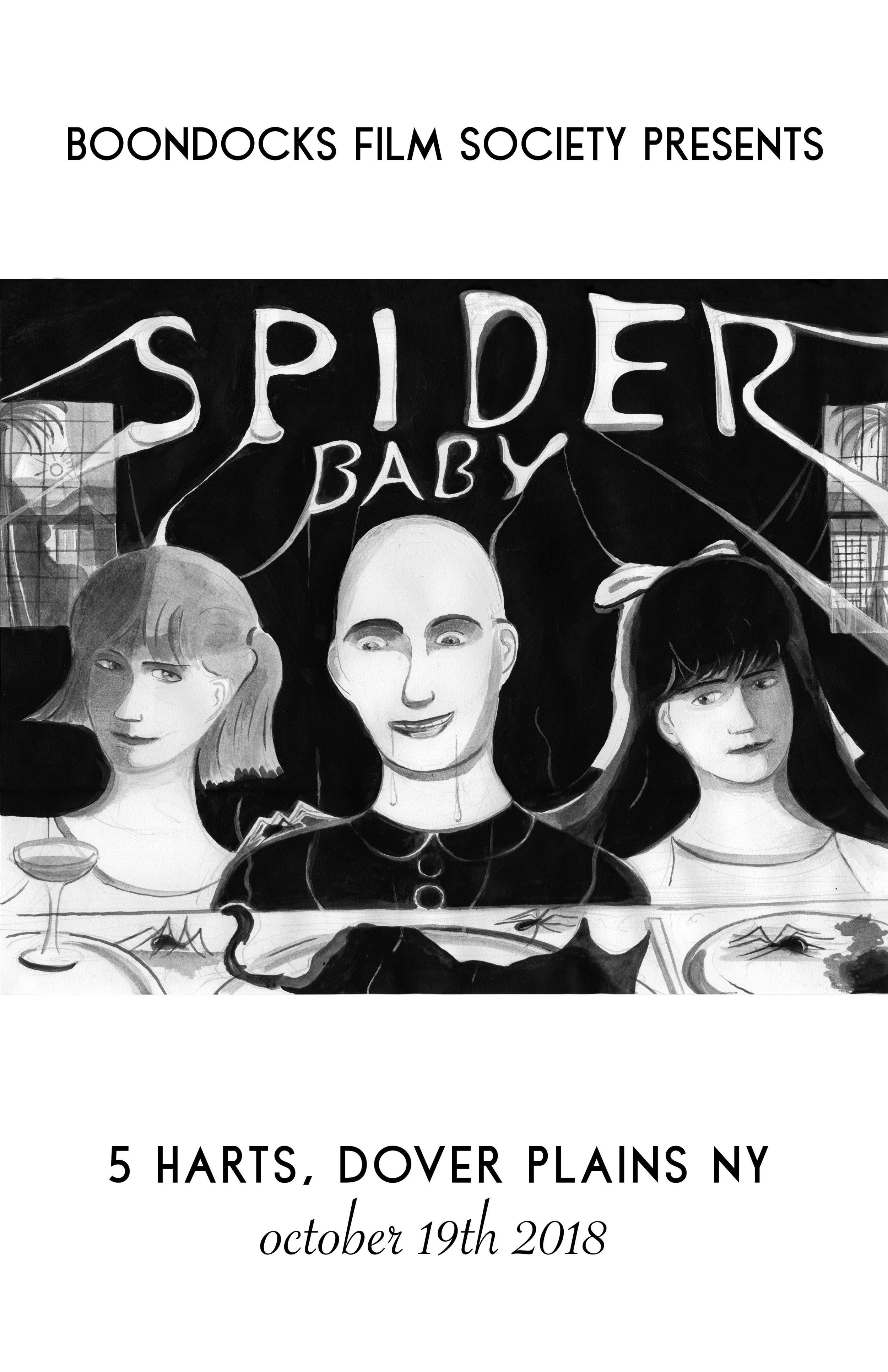Spider Baby poster by Geoff Parker
