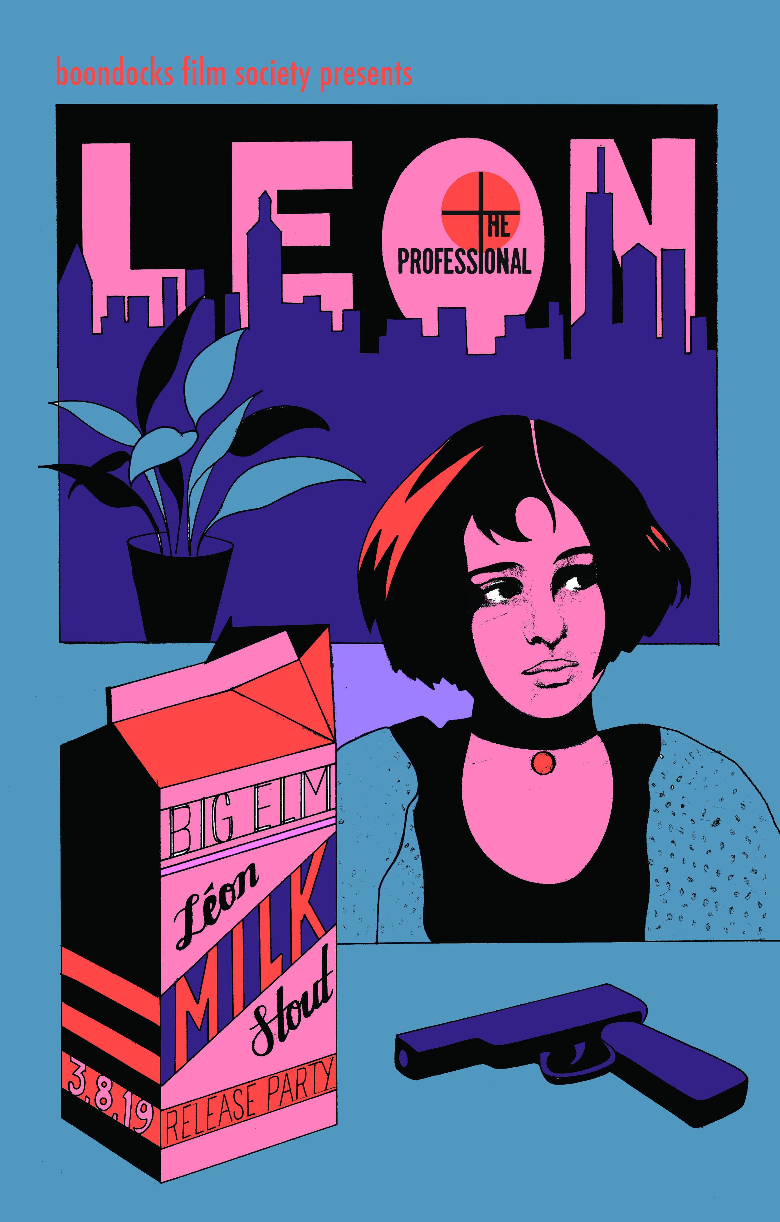 'LEON' Milk Stout Release Party w/ Luc Besson's Leon: The professional (international cut)