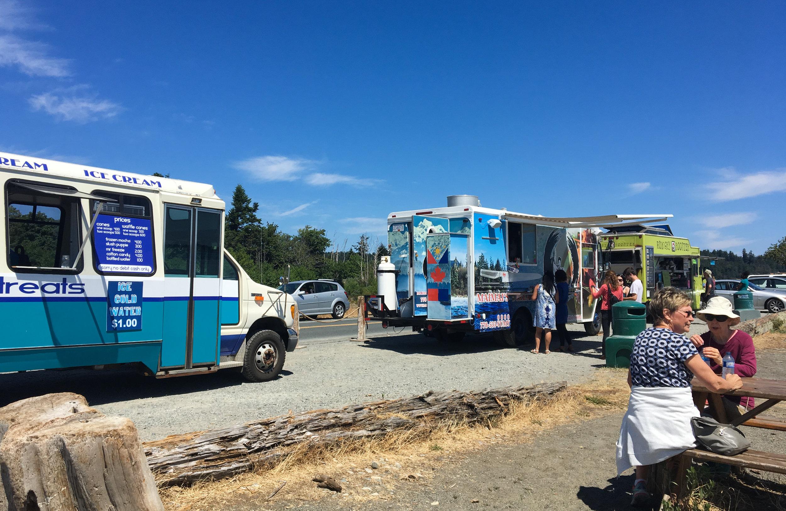 Colwood Beach Eat Food Trucks