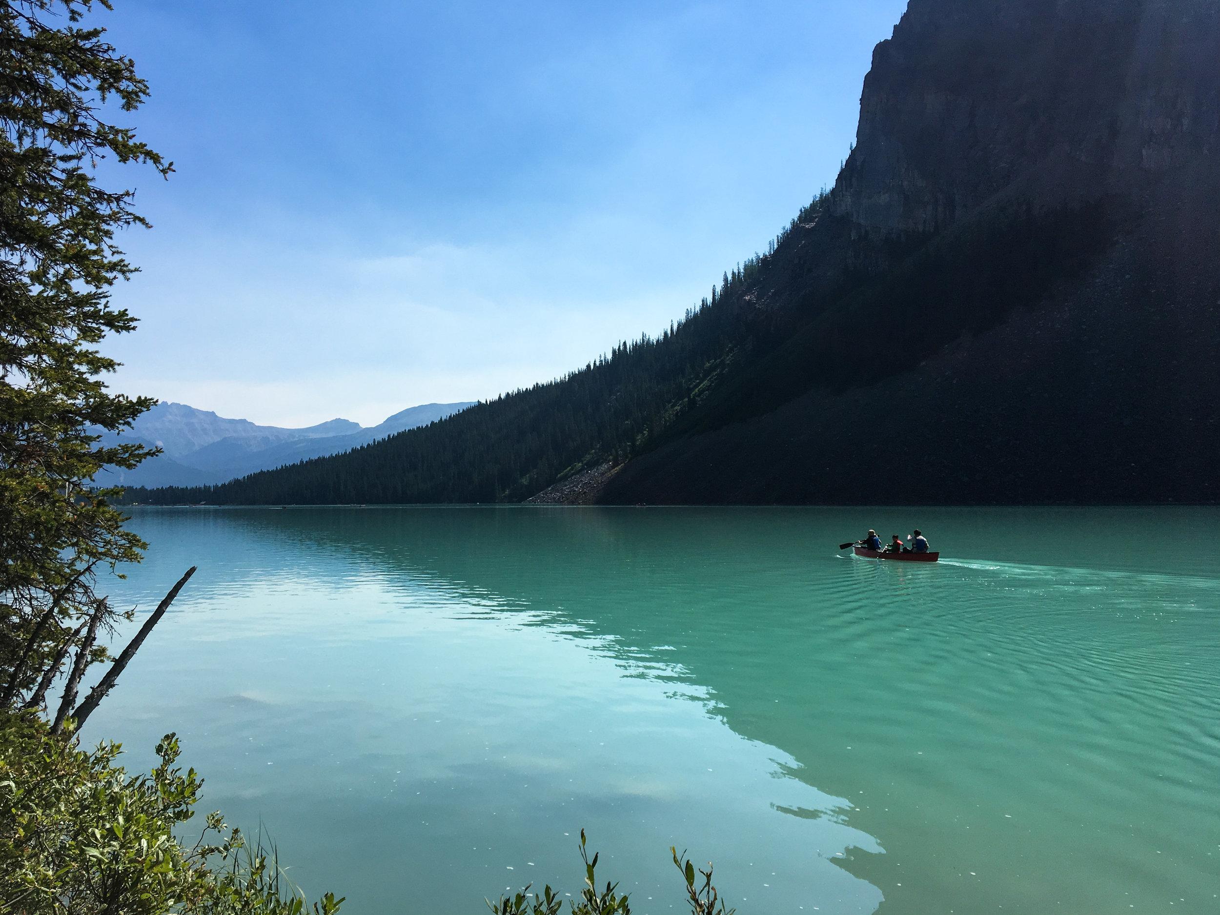 Canoe Rental Lake Louise