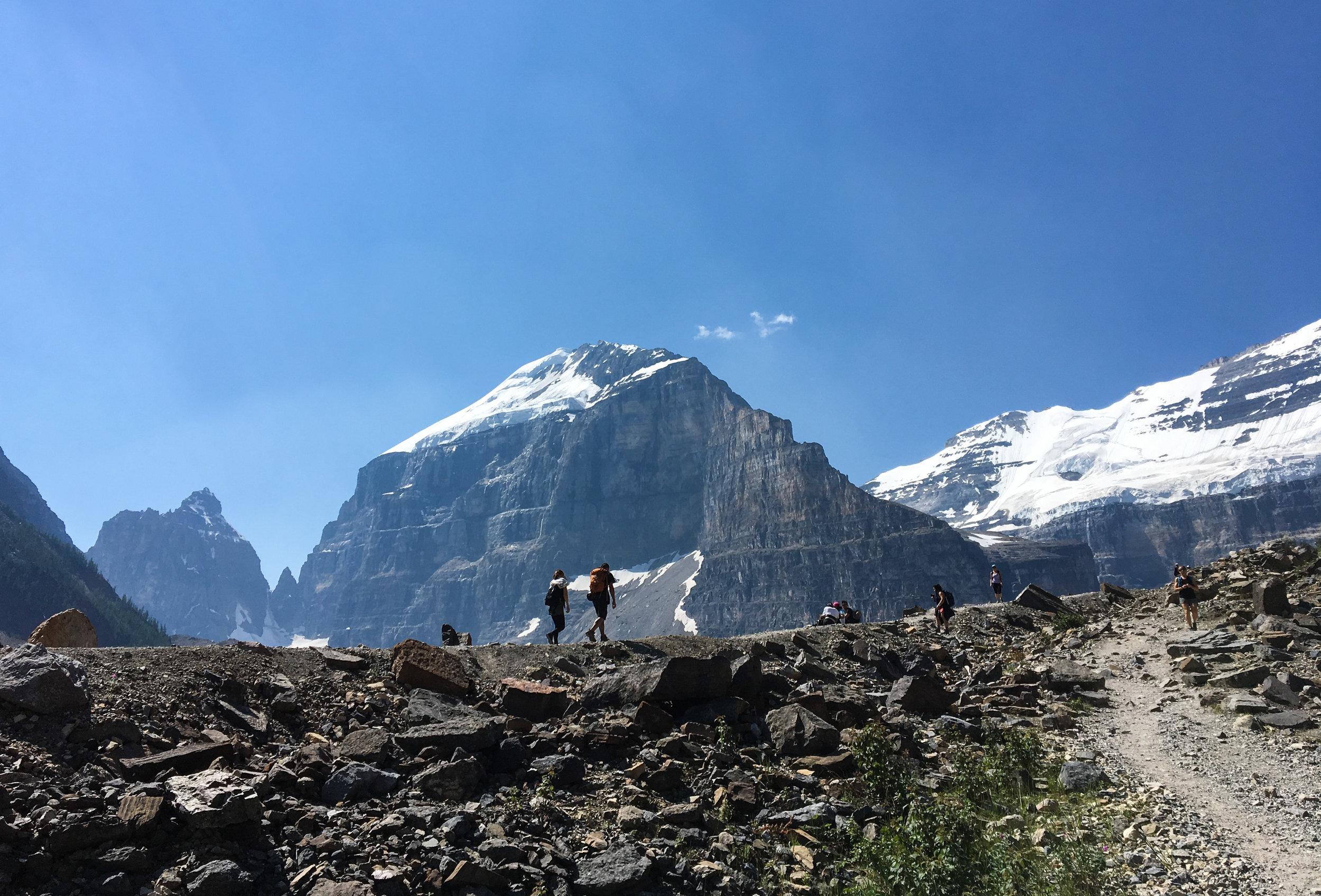 Plain of Six Glaciers Banff
