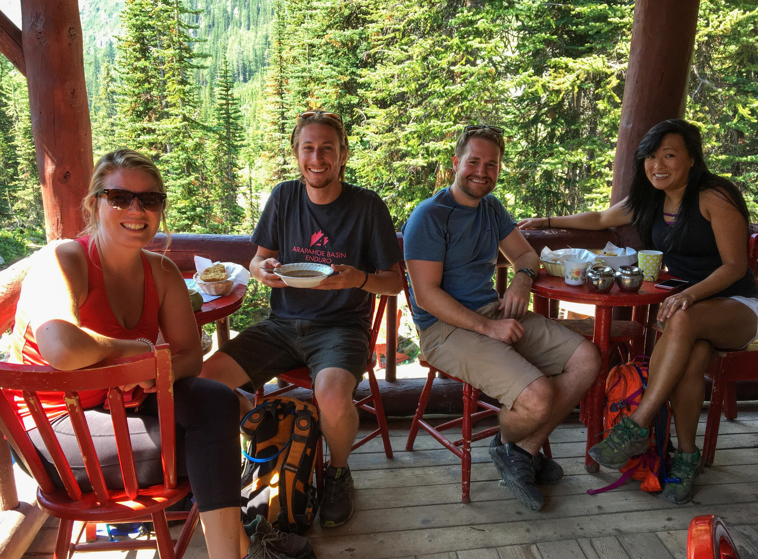 Tea House Banff National Park