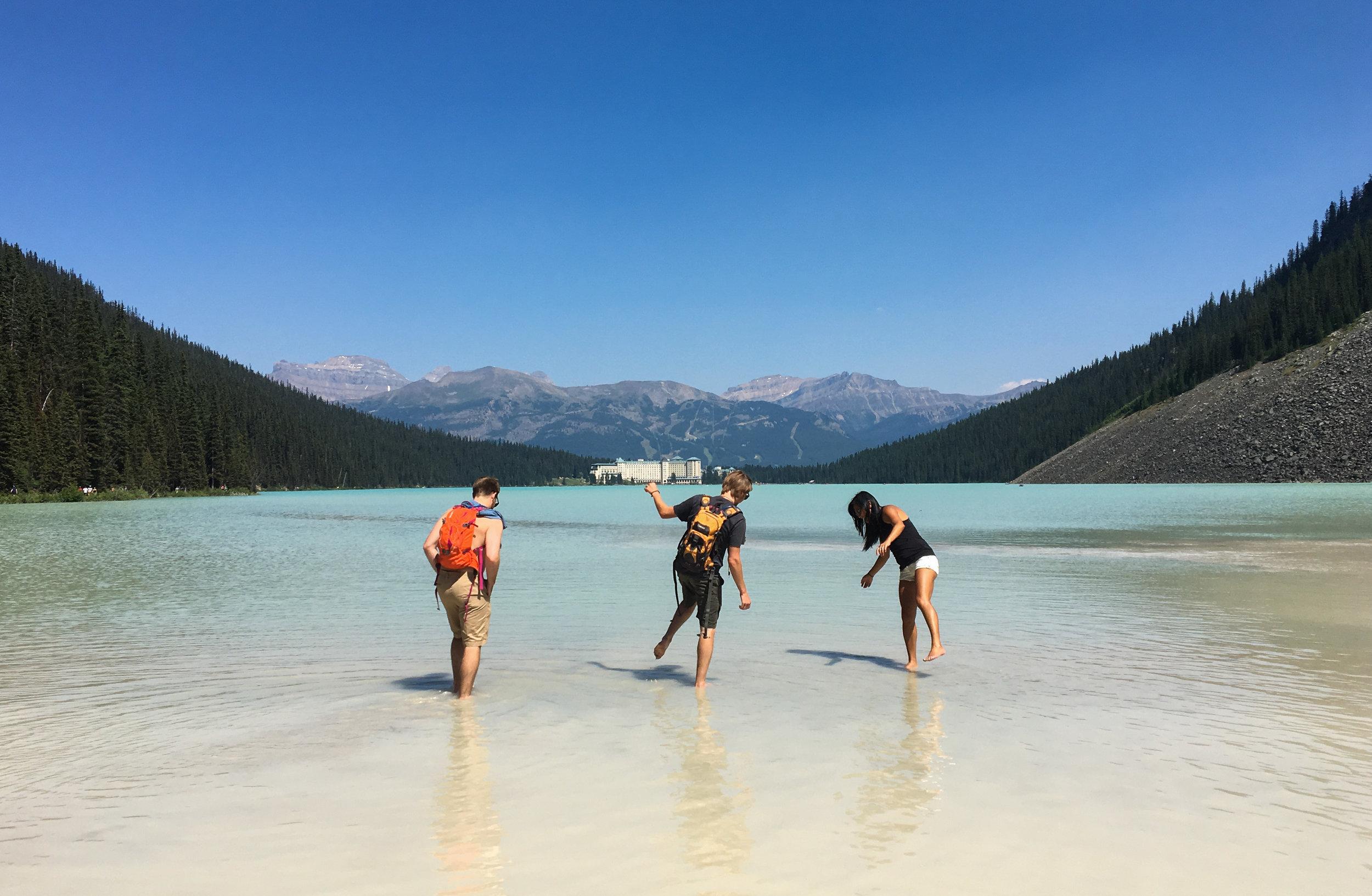 Swim Lake Louise