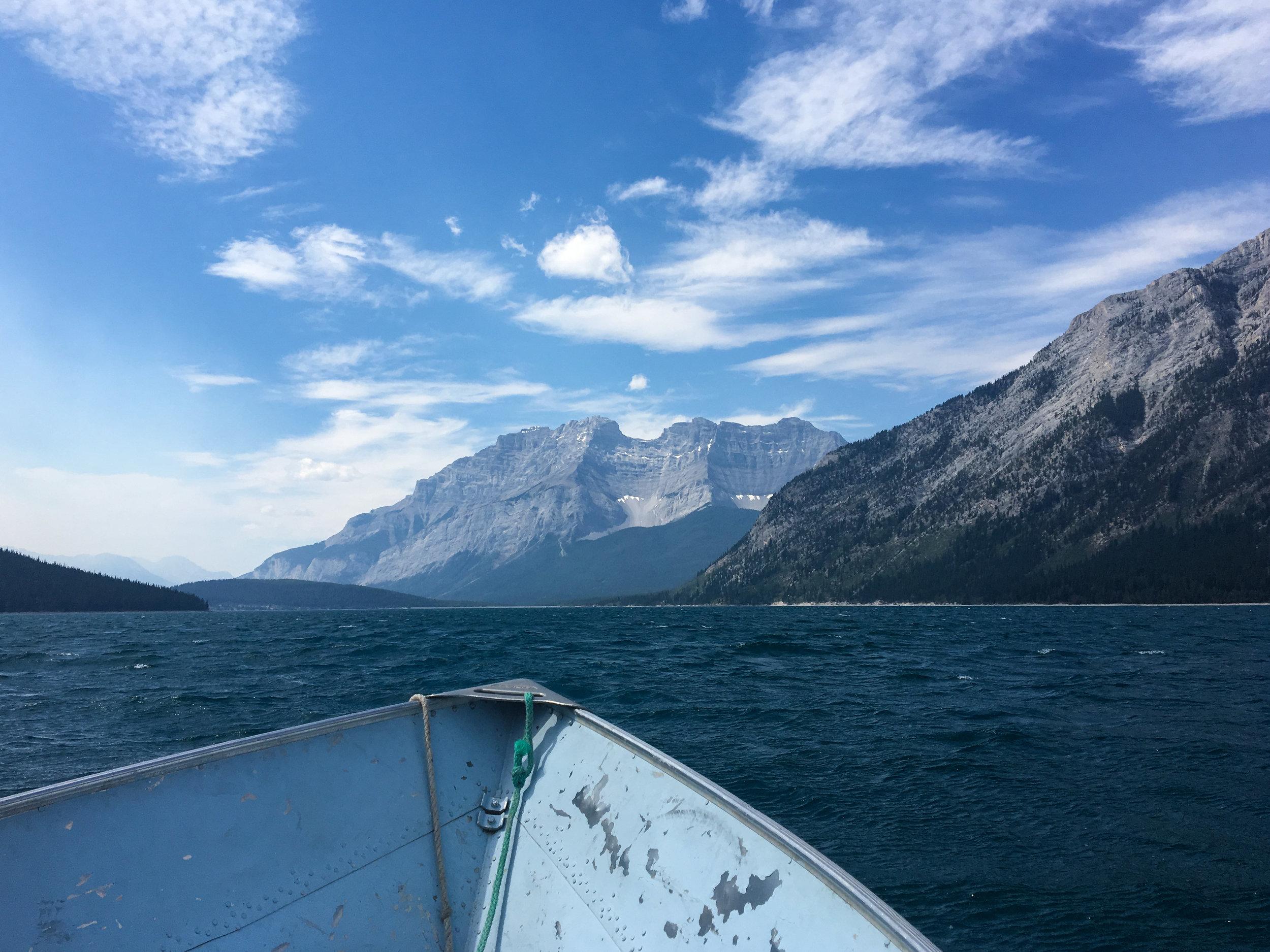 Lake Minnewanka Boating