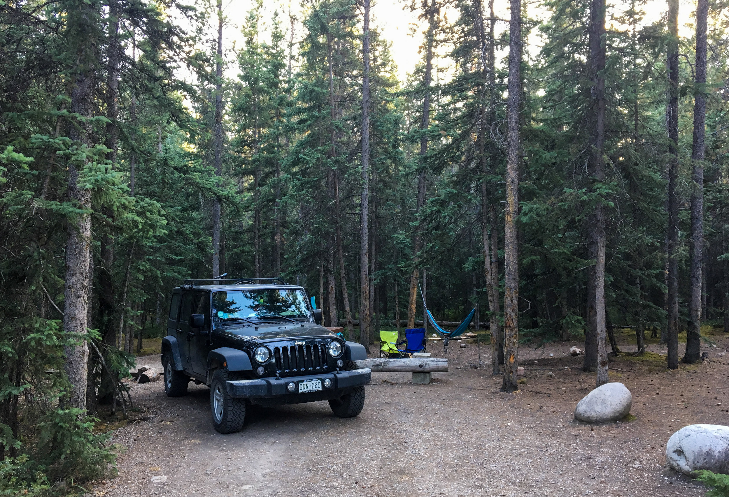 Snaring Campground Jasper National Park