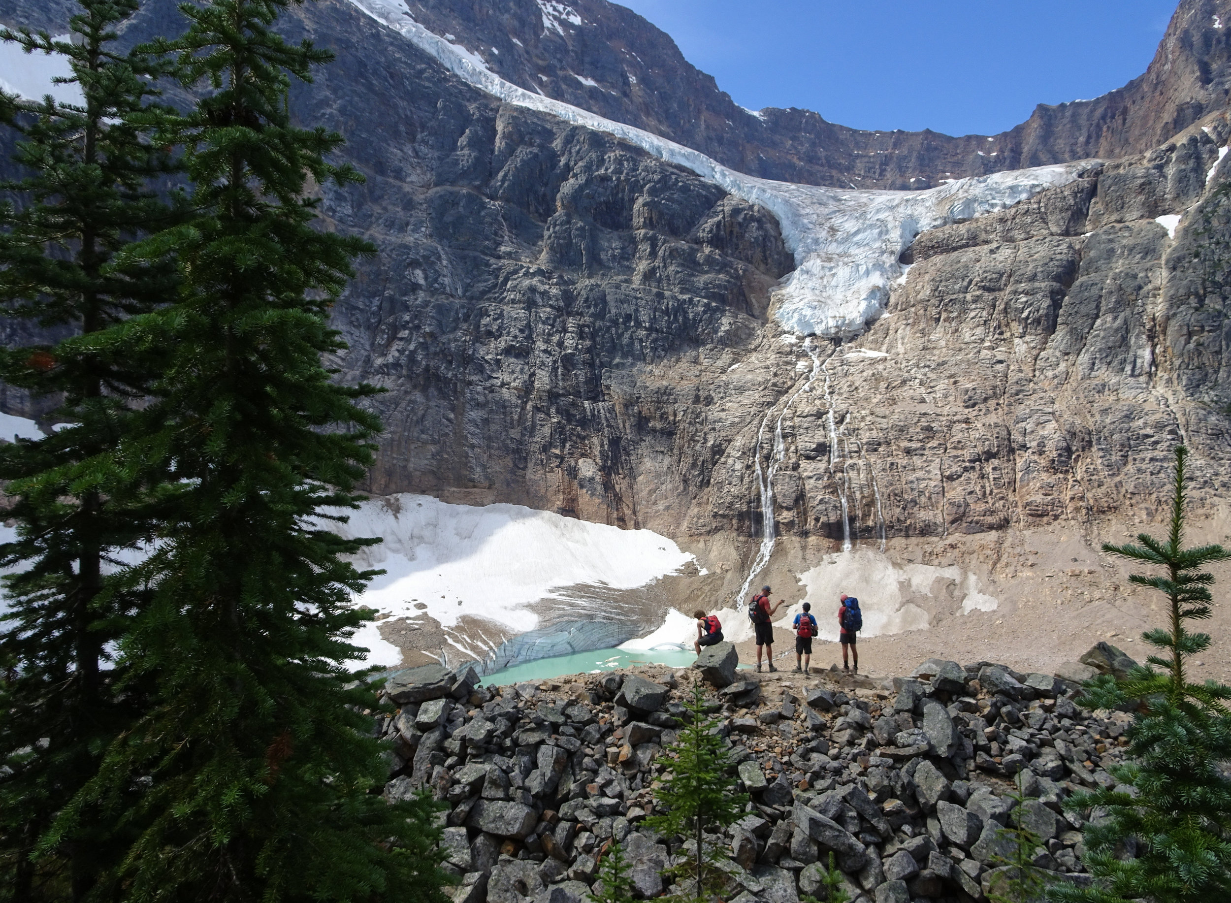 Angel Glacier Viewpoint