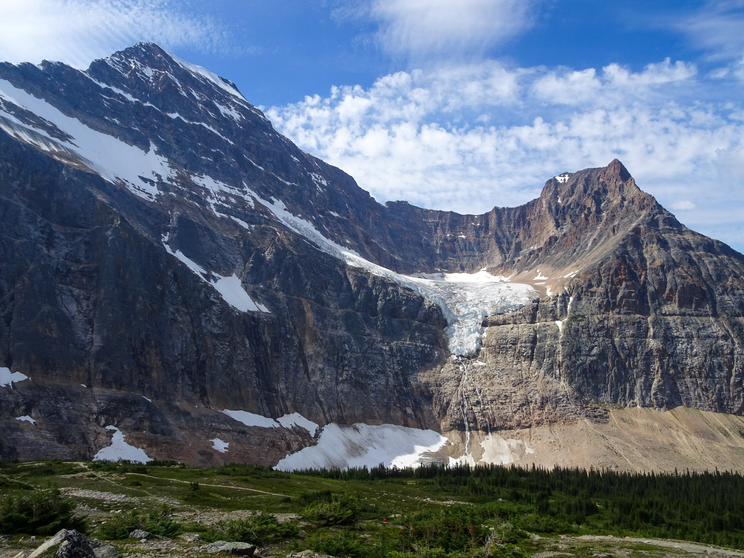 Mount Edith Cavell and Angel Glacier