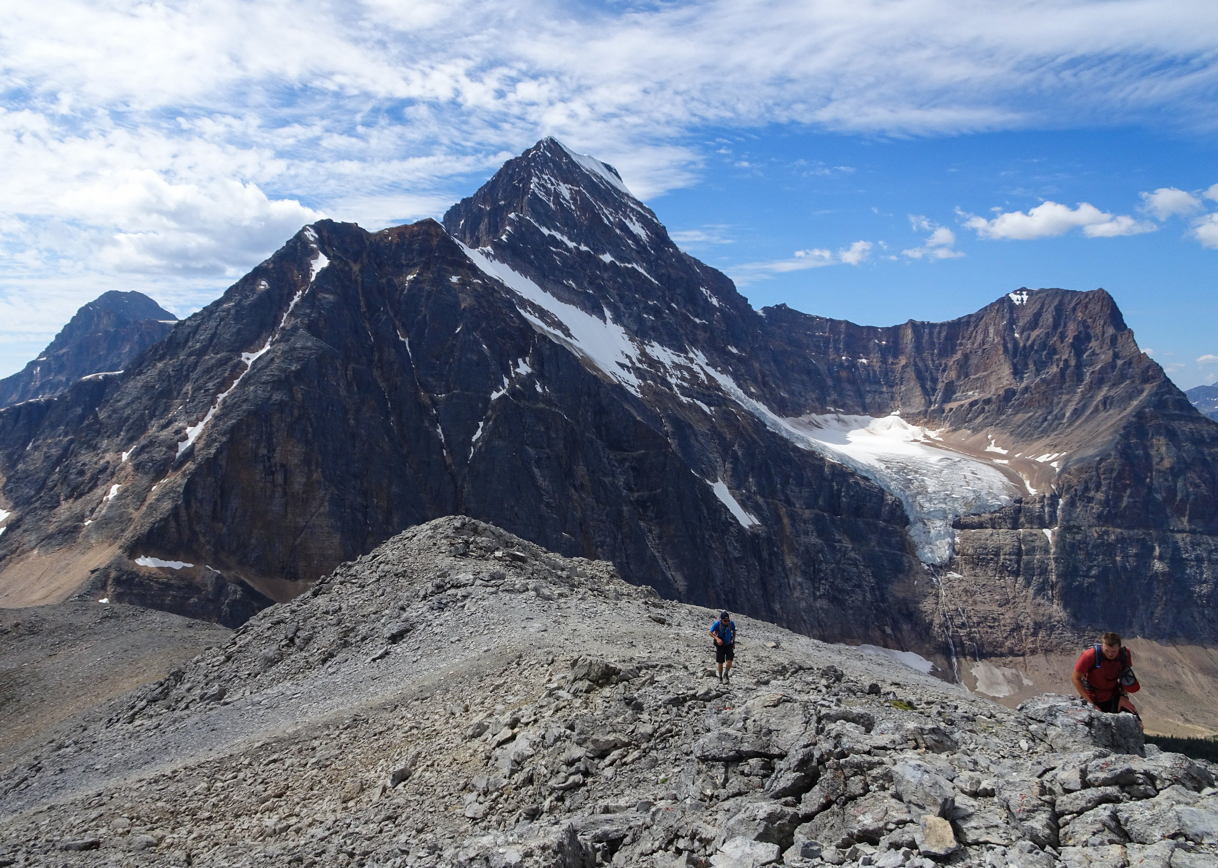 View of Mount Edith Cavell and Angel Glacier
